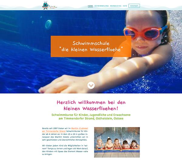 Schwimmschule-Die-kleinen-Wasserflöhe